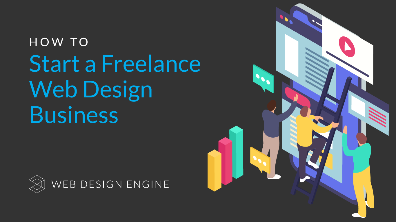 How to start a freelance or web design business