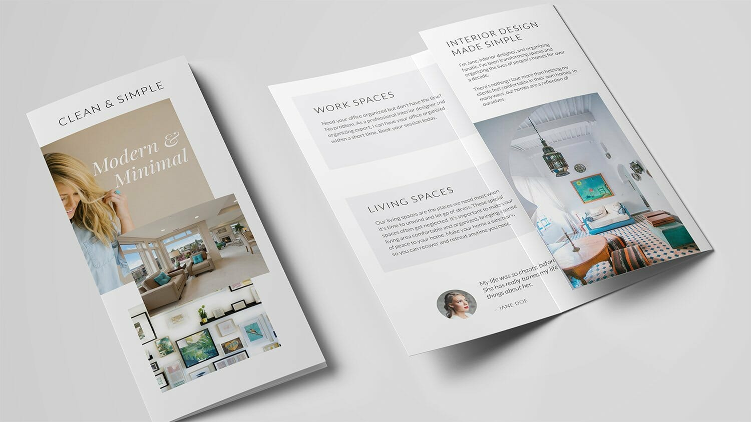 Ariyah Brochure Template