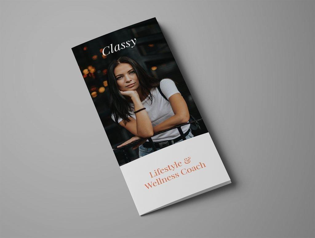 Ariyah Classy Brochure Template Front
