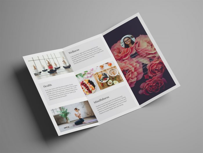 Ariyah Classy Trifold Brochure Template Inside