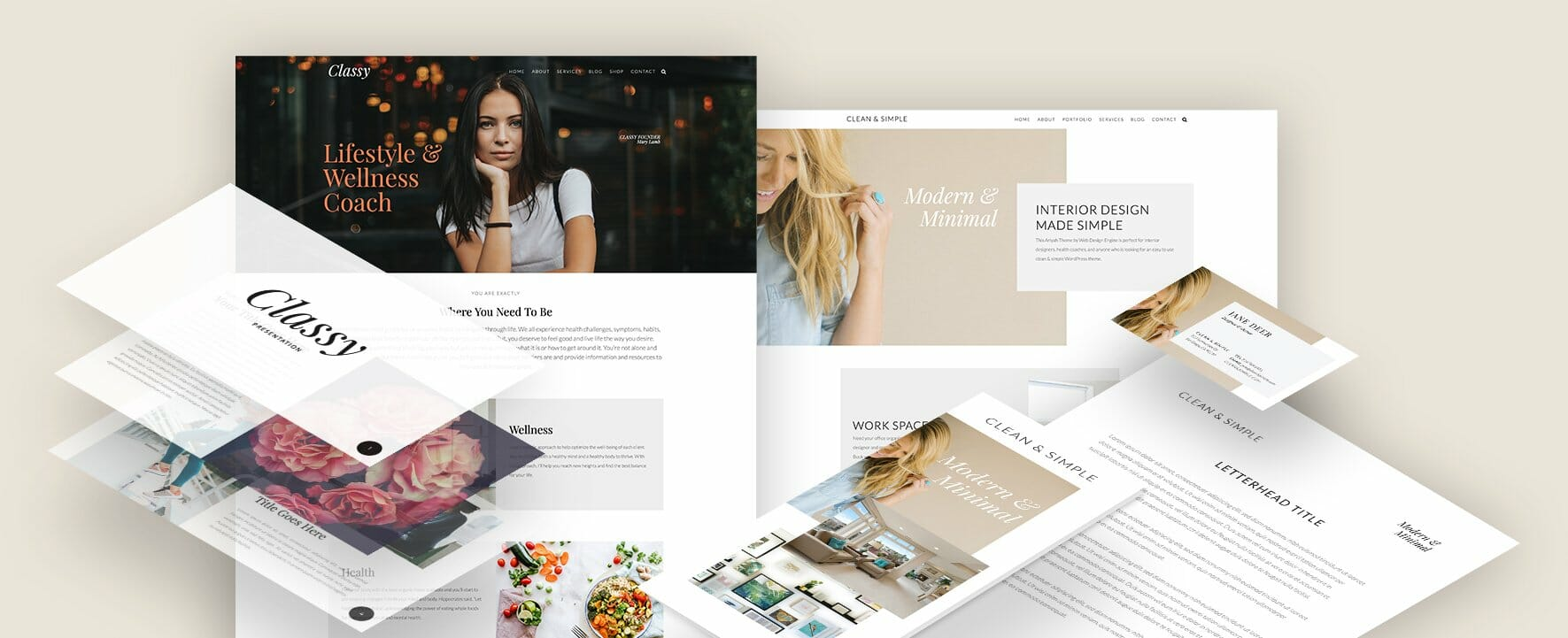 Ariyah WordPress Theme and Marketing Essentials for Health Coaches and Wellness Business