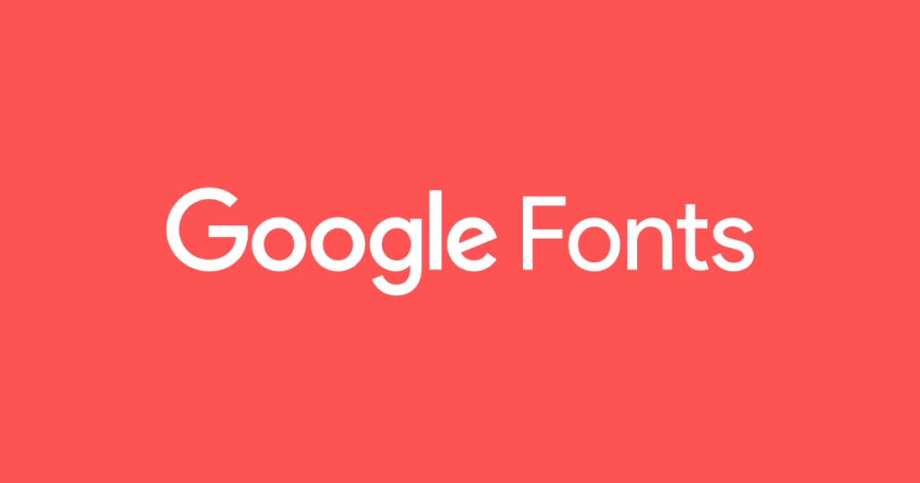 Fonts from Google