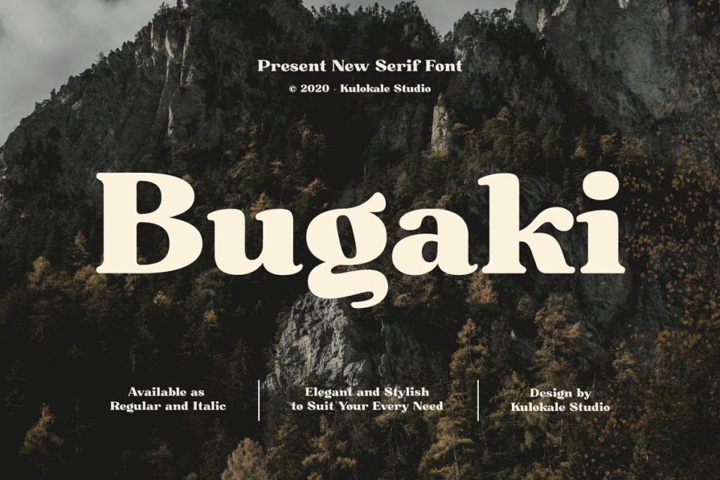 Free Bugaki Font
