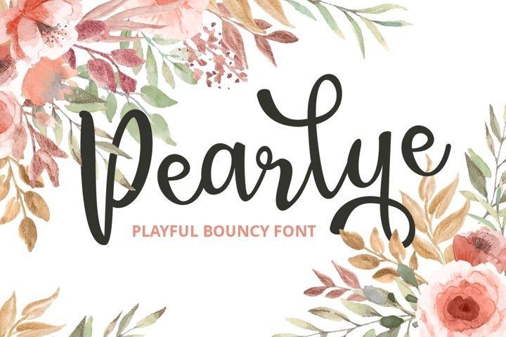 Pearlye Free Font