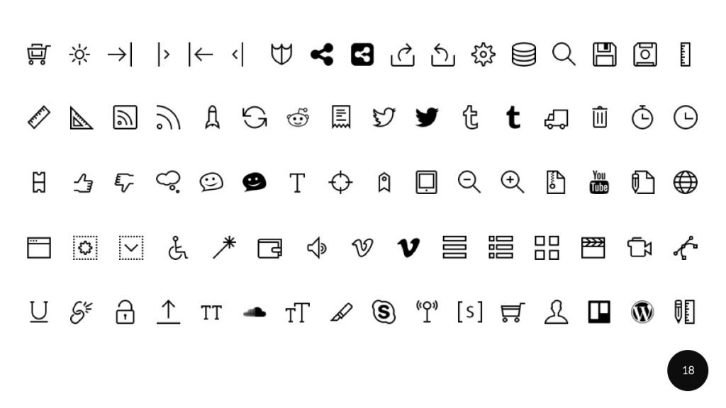 Ariyah Presentation Icons
