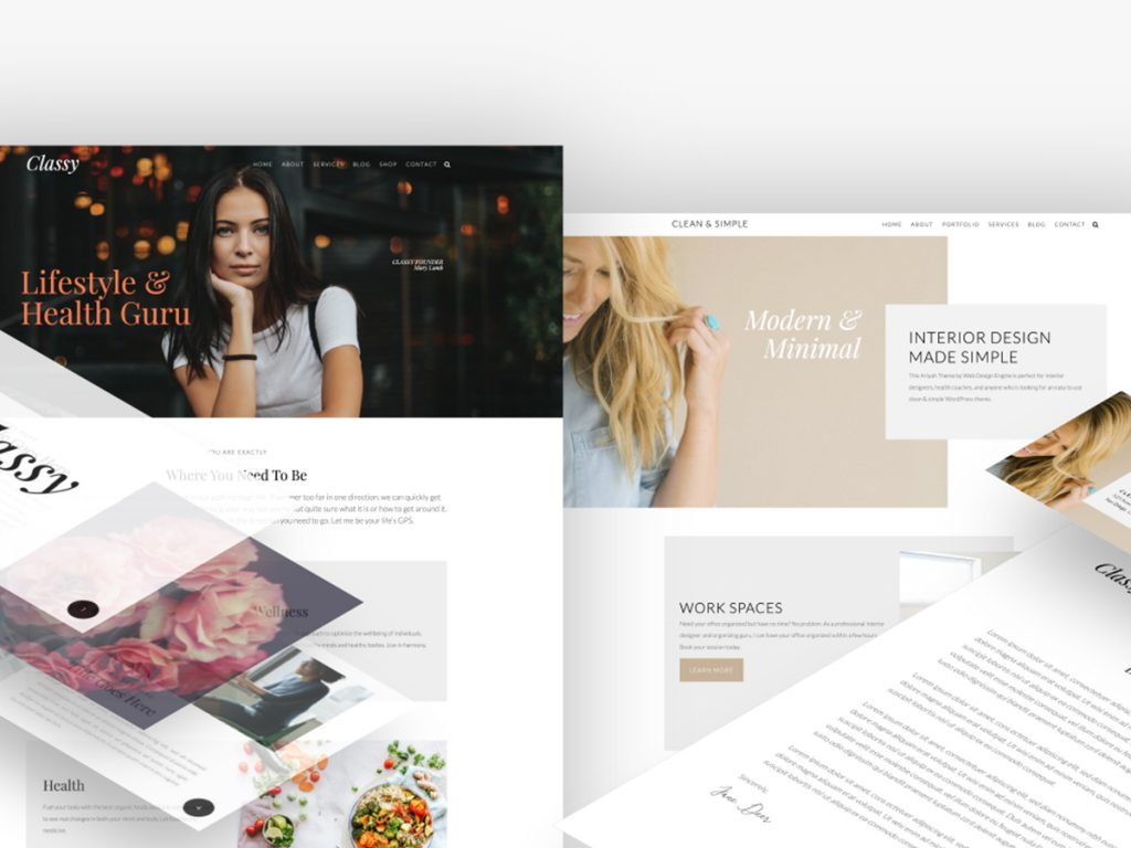 Ariyah Website Theme and Marketing Essentials Complete Package
