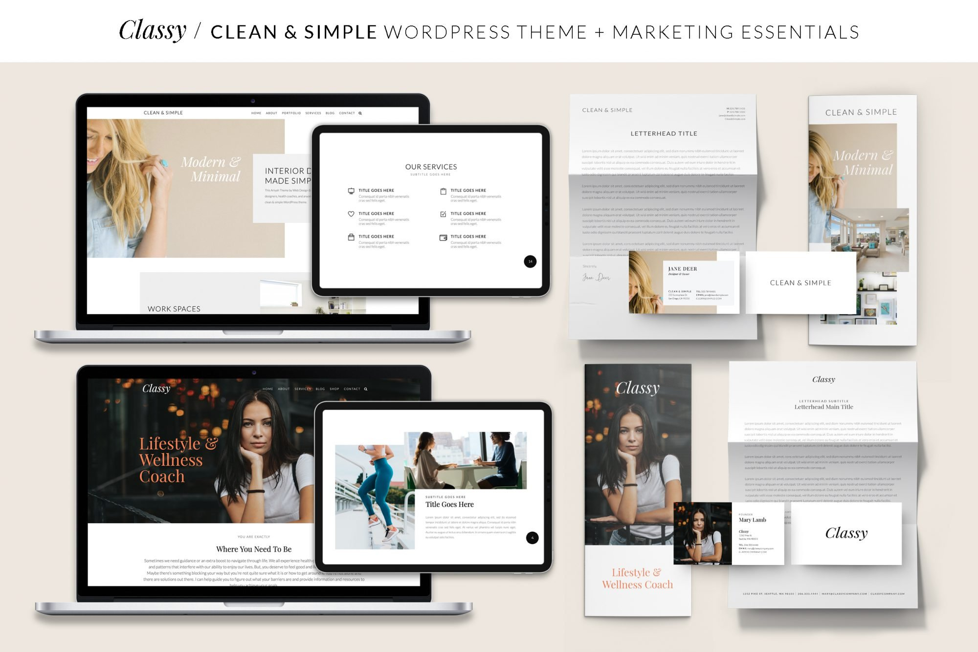 Ariyah Website and Marketing Essentials Bundle
